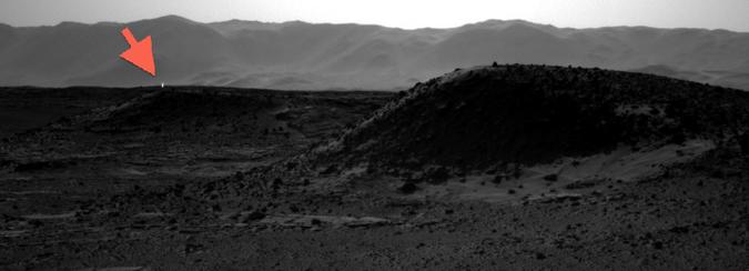 Luz en Marte