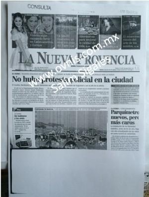 Dionisio Llancas La Nueva Provincia